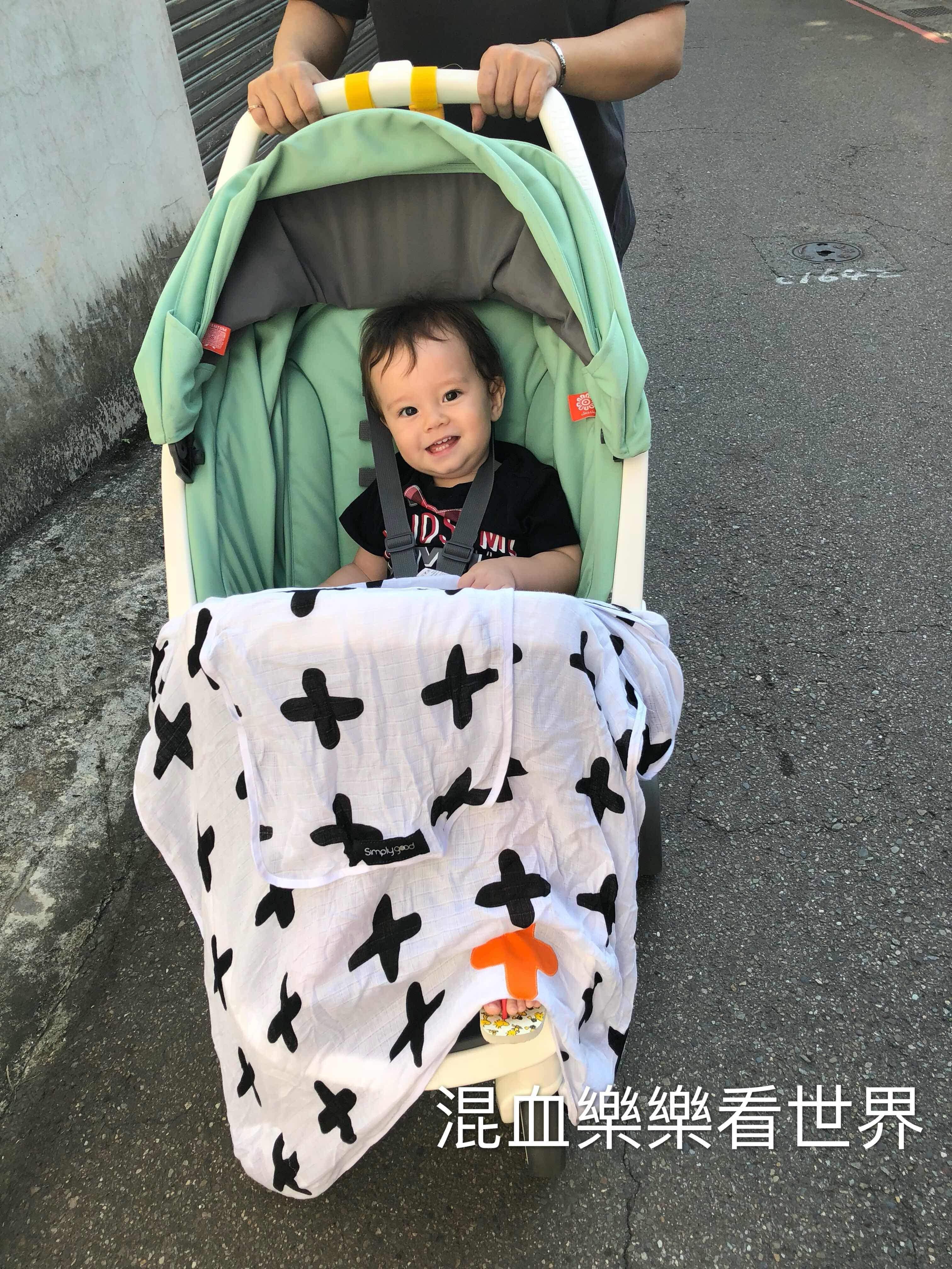【育兒好物】LAVIDA育兒好好玩!!推車好朋友!讓爸媽育兒外出更簡單方便的以色列SimplyGood推車防風遮陽罩與推車置物網袋